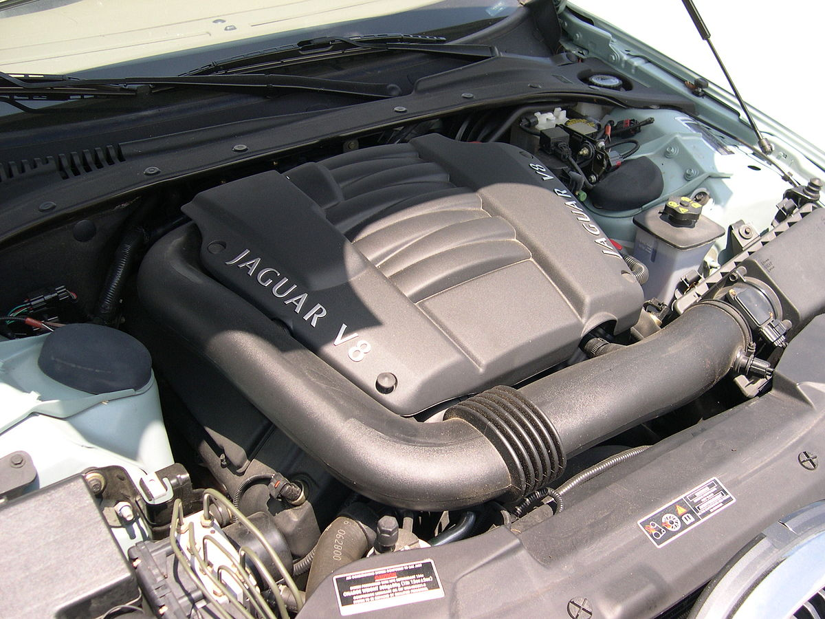 hight resolution of jaguar aj v8 engine wikipedia 2000 mazda mpv engine diagram bottom view
