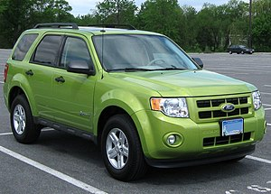 Ford Escape Hybrid photographed in College Par...