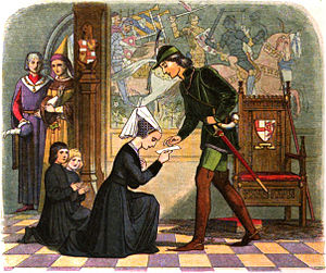 Edward IV meets his wife-to-be, Elizabeth Grey.