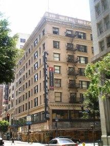 Haunted Alexandria Hotel Los Angeles