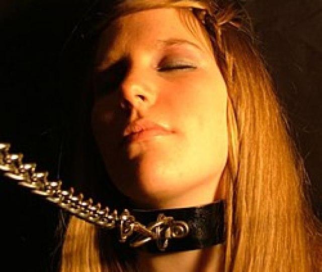 Bdsm Collar And Chain Jpg