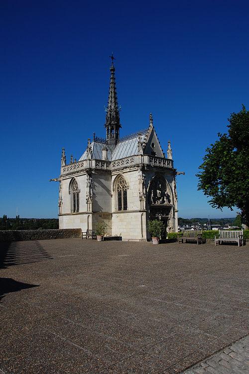 Chapel at Château d'Amboise