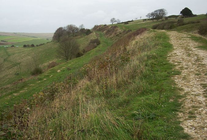 Cissbury Ring ramparts