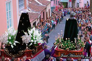 Semana Santa en La Orotava  Wikipedia la enciclopedia libre
