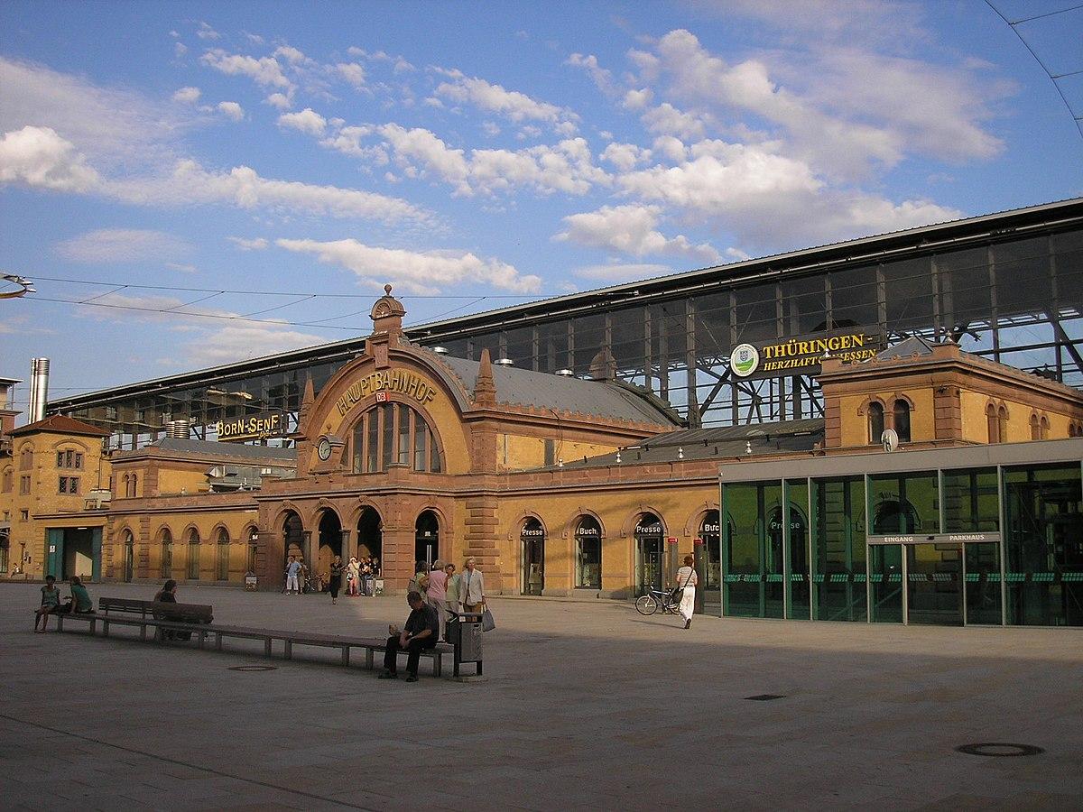 Erfurt Hauptbahnhof  Wikipedia