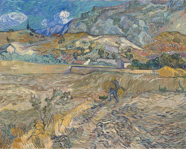 Vincent Van Gogh Landscape Paintings