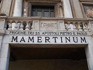 Italiano: Il Carcere Mamertino (antico carcere...