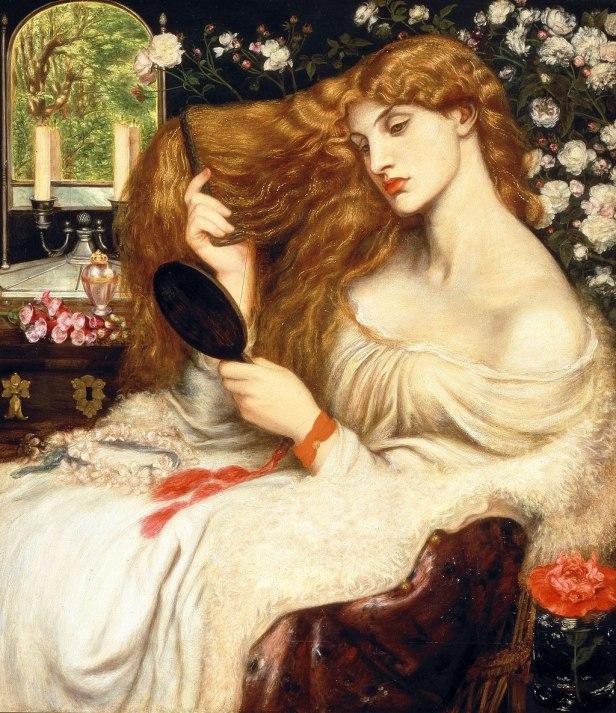 """""""Lady Lilith"""" by Dante Gabriel Rossetti"""