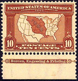 English: Louisiana_Purchase7_1903_Issue-10c.jpg