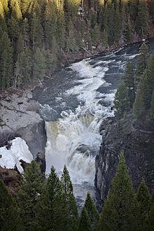 Lower Mesa Falls  Wikipedia