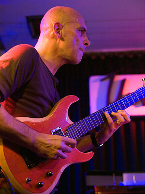 English: Marc Ducret, jazz guitarist; Picture ...