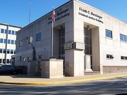 English: New Albany Indiana police station