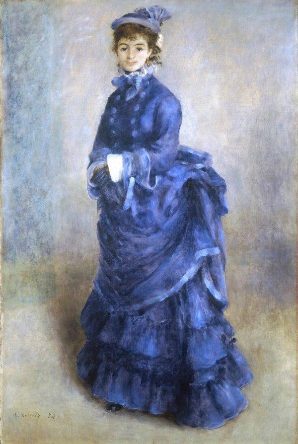La Parisienne Renoir Painting