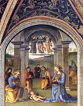 Pietro Perugino - Nativity - WGA17249