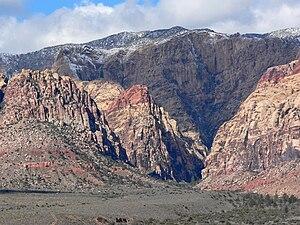 Pine Creek Canyon, Red Rock Canyon, southern N...