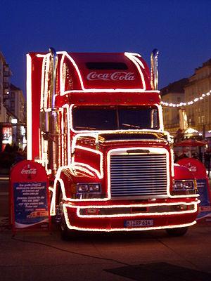 Deutsch: Coca-Cola Weihnachtstruck (auf dem Dr...