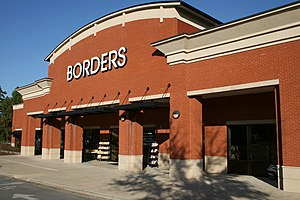English: Borders Books at 1807 Fordham Bouleva...