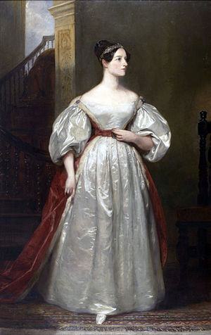 Ada Lovelace, 19th century British mathematici...