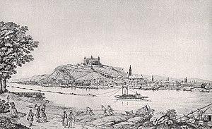 View of Bratislava (Pressburg), 1787