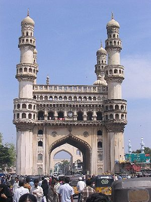 The Charminar in Hyderabad, India