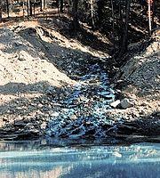 Contaminação de água por cobre