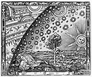 English: The Flammarion engraving is a wood en...