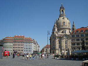The Church of Our Lady in Dresden.