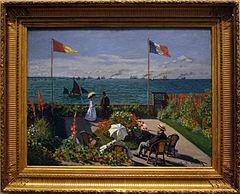 Taras nad morzem w Saint Adresse  Wikipedia wolna
