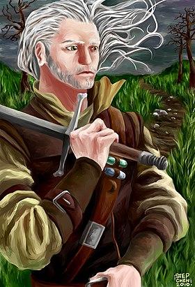 Geralt De Riv The Witcher 1 : geralt, witcher, Geralt, Wikipédia