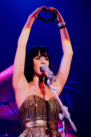 Katy Perry performing at Clutch Cargo's and Mi...