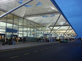 """Nick Barton, the airport's managing director.states """"Stansted airport could double the number of handled passengers to 36 million if it was exempt from Civil Aviation Authority regulation"""""""