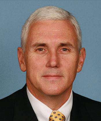 Mike Pence, member of the United States Congress.