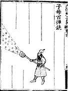 Hwacha: A Korean 'Rocket Arrow' Launcher.