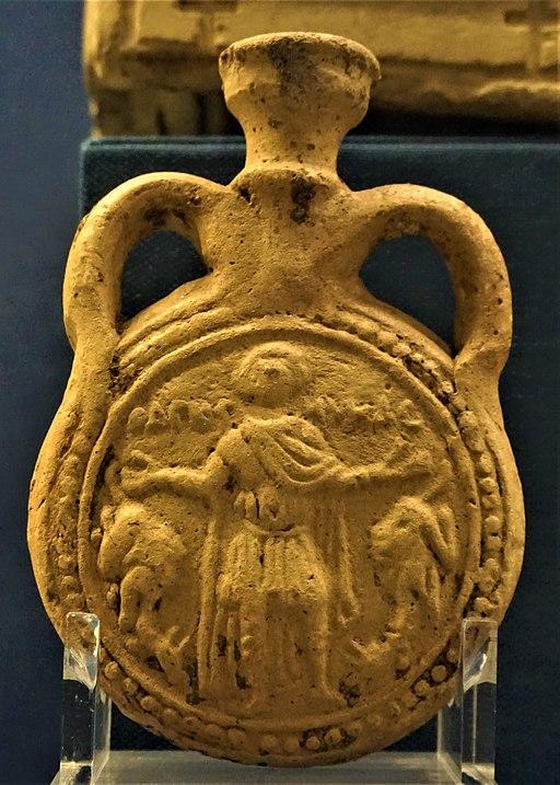 Pilgrim's Bottle of Saint Menas - Benaki Museum, Athens - Joy of Museums