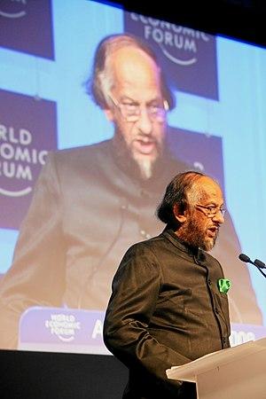 DAVOS/SWITZERLAND, 23JAN08 - IPCC's Rajendra K. Pacha...