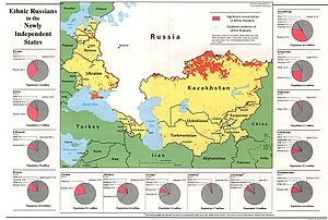Ethnic Russians in former Soviet Union states ...
