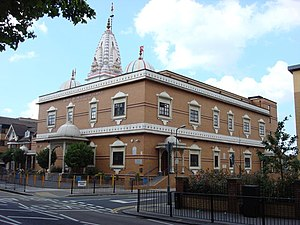 English: Shree Swaminarayan Temple This Hindu ...