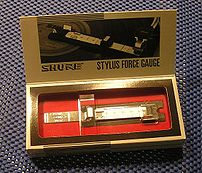 Shure SFG-2 Precision Stylus Force Gauge