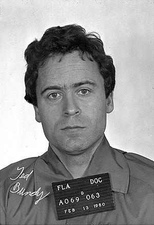 Ted Bundy mug shot, Feb. 13, 1980.