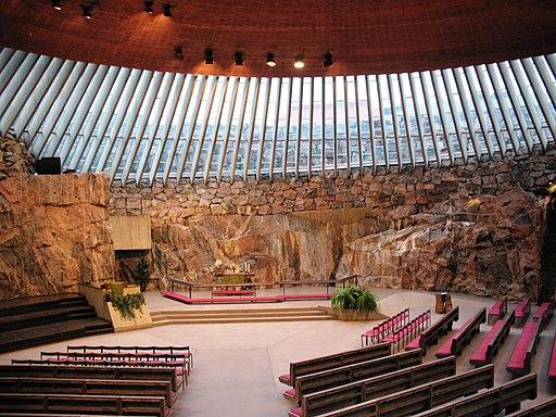 Temppeliaukio Kirkko (Rock Church), Helsinki