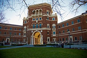 English: Weatherford Hall at Oregon State Univ...