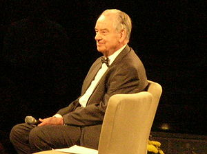 Zig Ziglar speaks at the Get Motivated Seminar...