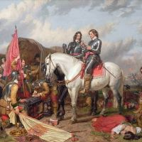 """Cromwell in Battle of Naseby"" by Charles Landseer"