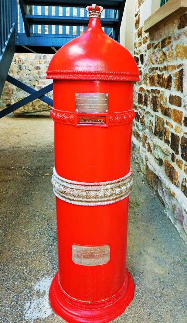 Commissariat Store, Brisbane - Joy of Museums - Post Box 1884