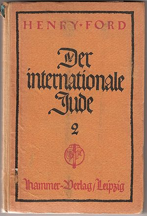 Cover of German imprint of The International J...
