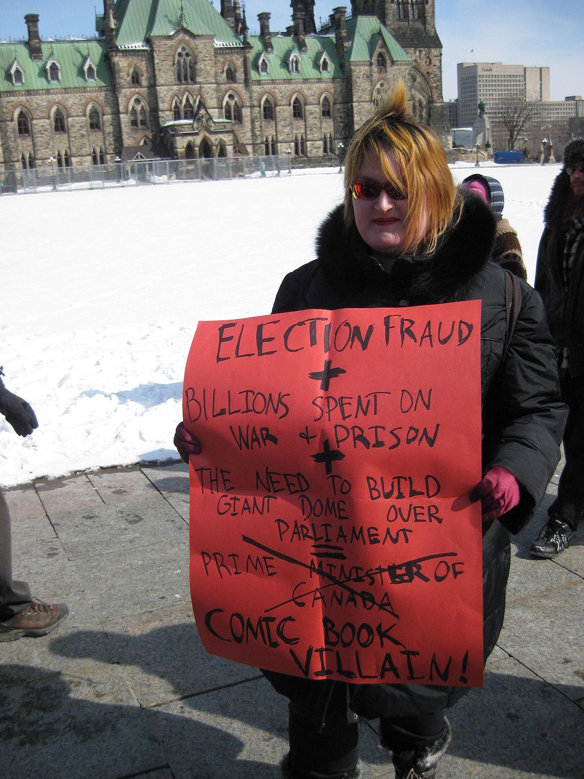 2011 Canadian federal election voter suppression scandal