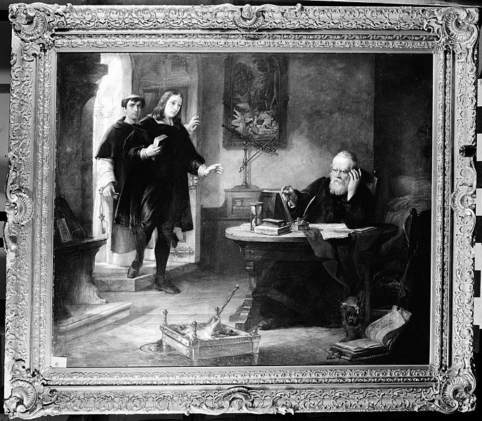 File:Milton visiting Galileo when a prisoner of the Inquisition. Wellcome M0006601.jpg