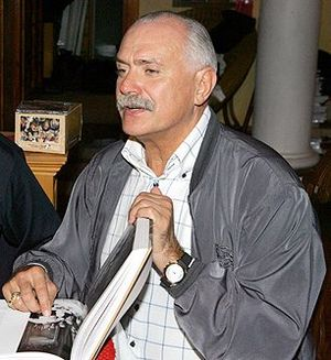 English: Nikita Mikhalkov, a Soviet / Russian ...