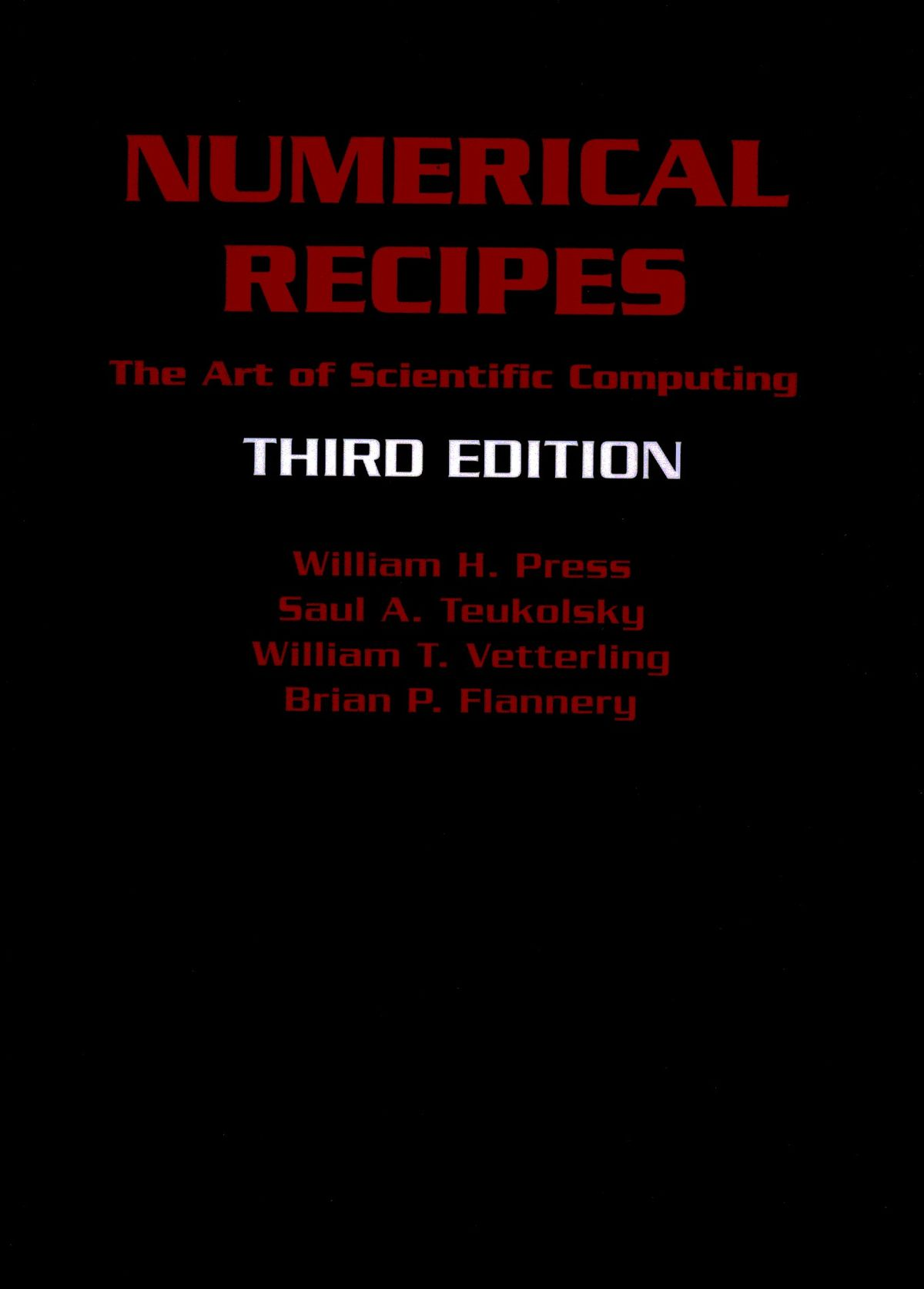 Numerical Recipes  Wikipedia