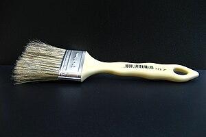 English: Paintbrush Português: Trincha